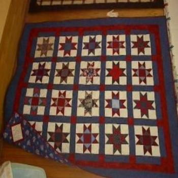 Handmade quilt for a raffle