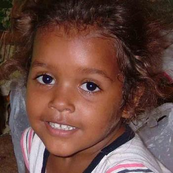 Young aboriginal girl, Australia.