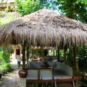 Bali Huts where we have our massage
