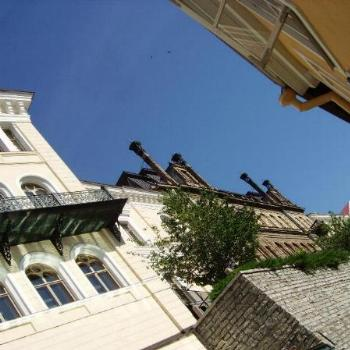 Looking up in Tallin