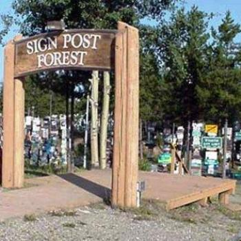 Sign Post Forrest, Watson Lake Yukon Canada Sue/OK