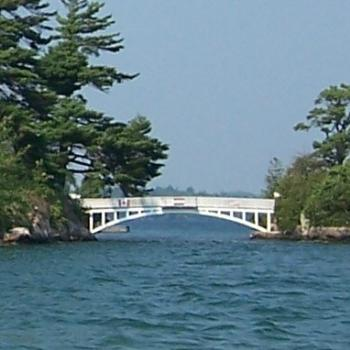 bridge in Thousand Islands