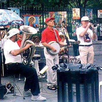 Jazz on the street in New Orleans / kr NC