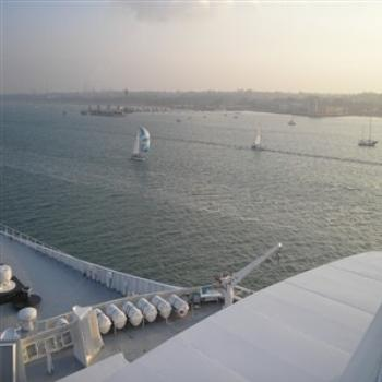 Southampton Waters from QE2