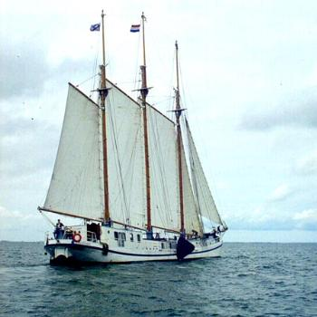 Tall ship, caught on film by my friend / KR NC