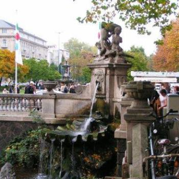 Fountain in Dortmund Germany  Sue/Ok