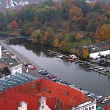 Canal in Lubeck Germany  Sue/Ok