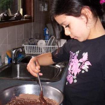lucy cooking