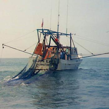 """Cajun Lady"" shrimp boat out of Carolina Beach, NC / kay NC"