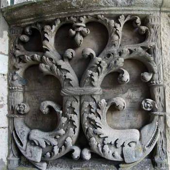 Chartres Cathedral stonework - France - Peg