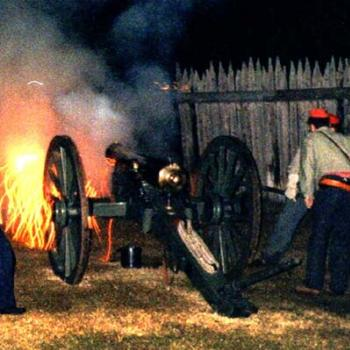 American Civil War reenactment, Fort Fisher NC / kr NC