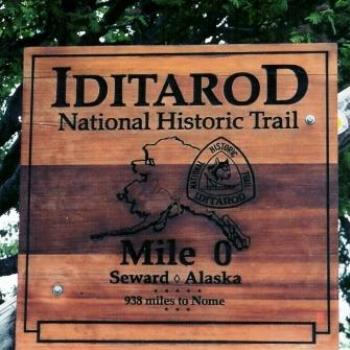 Iditarod Sign Seward Alaska  Sue/Ok