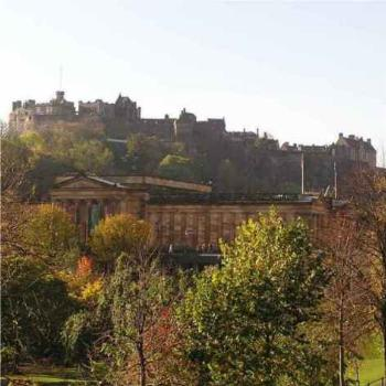 Edinburgh, Art Gallery and Castle
