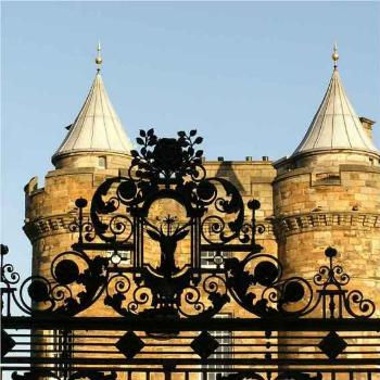 Gate at Holyrood Palace, Edinburch Scotland