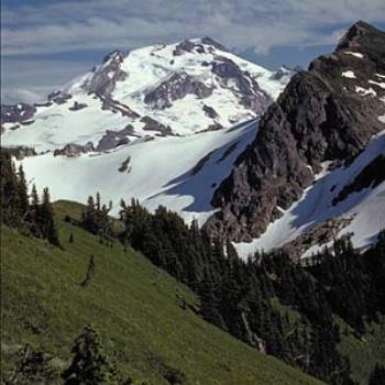 Glacier Peak from Pacific Crest Trail