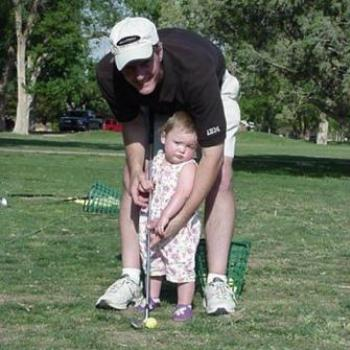 First golf lesson