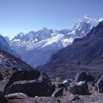 High camp at Khare, Nepal