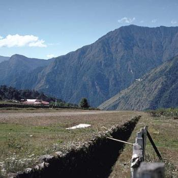 Landing strip at Lukla, Nepal