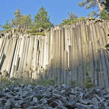 Devil's Postpile, near Mammoth, CA