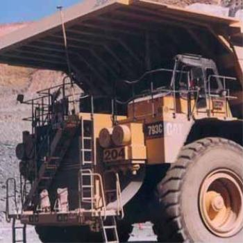 My boyfriend drives one of these in a coal mine...