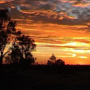 Sunset at Kerang