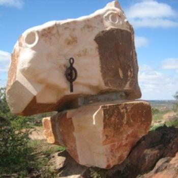 Desert sculpture, Broken Hill