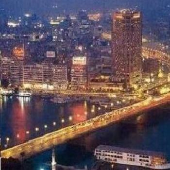 Cairo Egypt at night