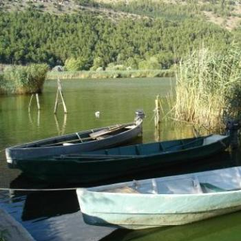 Lake Pamvotis, Ioannina, GREECE