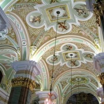 Inside Peter & Paul Cathedral
