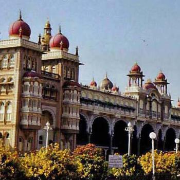 Part of the Mysore Palace, Mysore, India - Canuk Greg