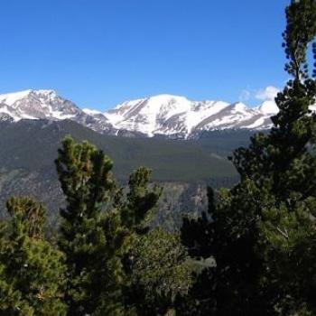 Rocky Mountains View