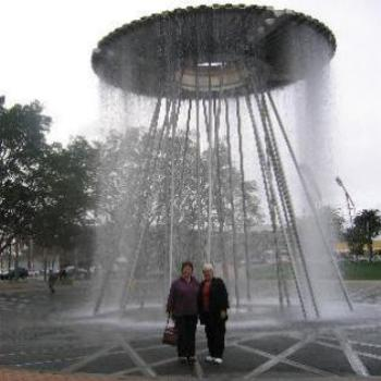 Fountain at Sydney Olympic Park