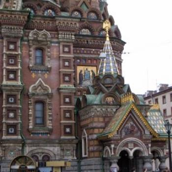 Church on Spilled Blood, St Petersburg (Ian)