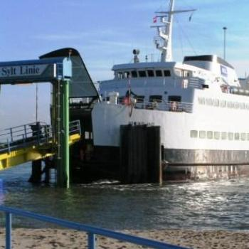 Ferry from Sylt