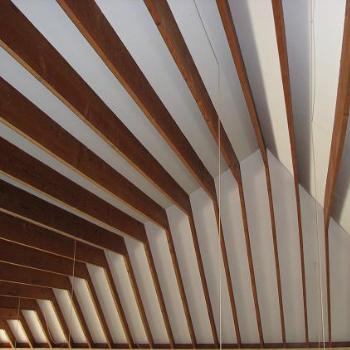 "ceiling of a ""cottage"" north of Toronto"