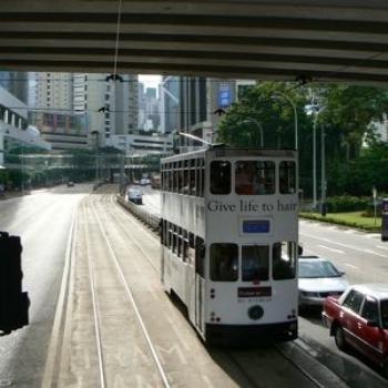 Rattly, Open-sided Trams, Hong Kong (Ian/Sydney)