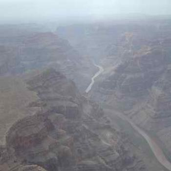 Grand Canyon and Colorado River, from the air