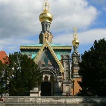 The Russian Chapel, Darmstadt (Ian/Sydney)