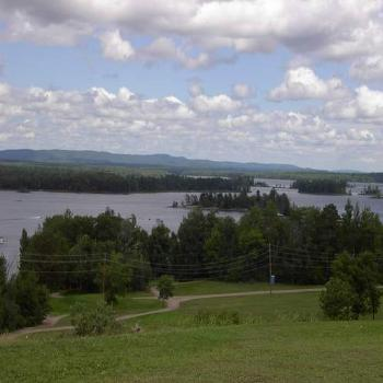 Ottawa River at Petawawa Canada