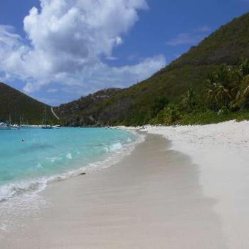 White Bay on Jost Van Dyke, BVI