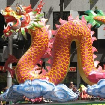 2008 Year of the Rat - Dragon Float for babies of 2000 1988 1976 1964 1952 1940 1928 & 1916
