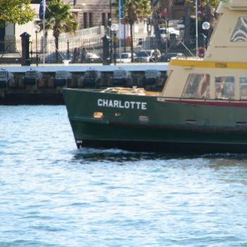 7448 ferry 'Charlotte' Circular Quay Sydney (for a friend's granddaughter called Charlotte) Sept'08Kate/Sydney