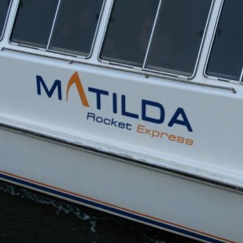 7550 Rivercat 'Matilda' Rocket Express Circular Quay Sydney (for a friend's granddaughter called Matilda) Sept'08Kate/Sydney