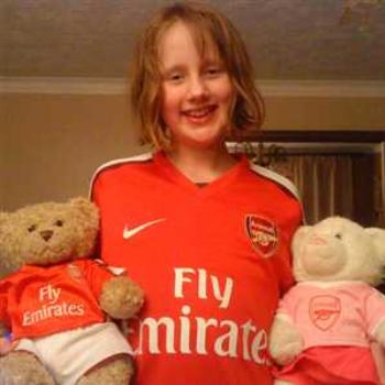 Toria - Arsenal Fan :-)