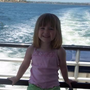 Taylah sailing in Perth