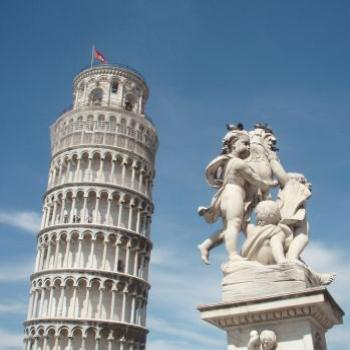 The leaning Tower, Pisa.