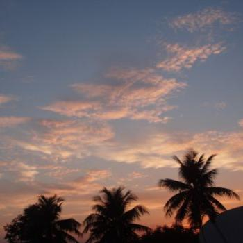 Evening sky, 12th March, Chennai, India