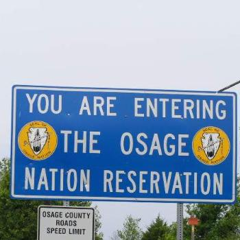 Entering the Osage  Sue/Ok