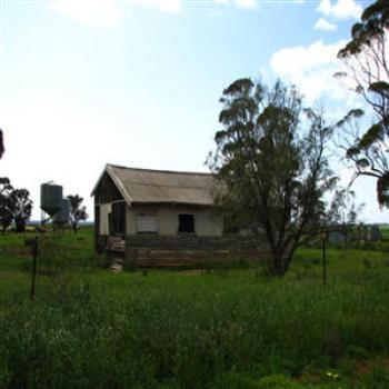 Old homestead, outback W.A.. Wendy/Perth