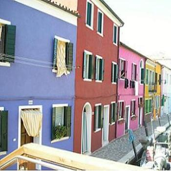 Colourful Houses on Burano, Venice